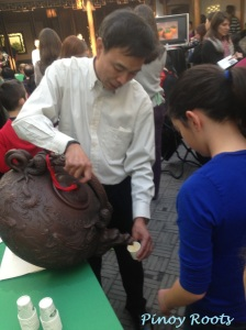 A beautiful (gigantic) ceramic teapot